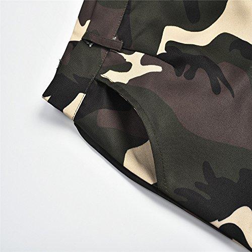 Eleganti Svago Moda Camouflage Taglie Pantaloni Sportivi Forti hop Pantalone mambain Donna Hip Alla Fit Slim Yellow UEtnqn