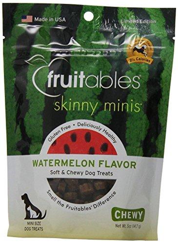 Fruitables Skinny Minis Watermelon Chewy Dog Treats