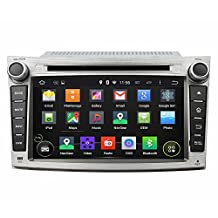 "7"" Android 6.0 Otca Core Car DVD GPS System Multimedia Player for Subaru Legacy/outback 2009 2010 2011 2012 With Car Stereo Radio WIFI Bluetooth Steering Wheel Control"