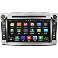 7 Android 6.0 DVD GPS System Multimedia Player Otca Core Car Radio for Subaru Legacy/outback 2009 2010 2011 2012 With Car Stereo Radio WIFI Bluetooth Steering Wheel Control