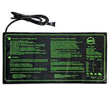 Greenwise® Seedling Heat Mat, Durable Waterproof Warm Hydroponic Heating Pad for Seedling Germination, 10x20.75 inch