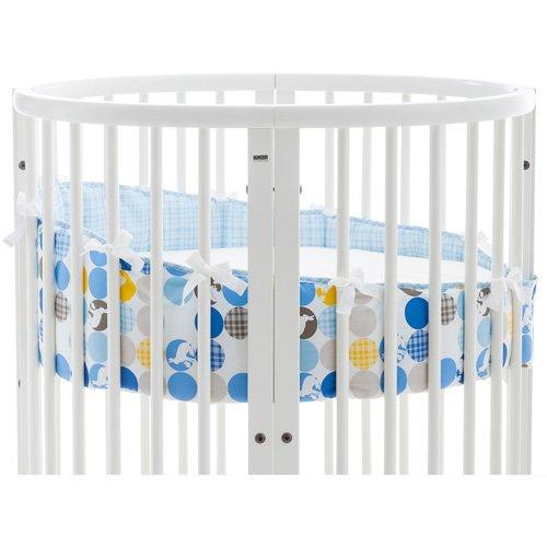 Stokke Sleepi Mini Bumper, Silhouette Blue