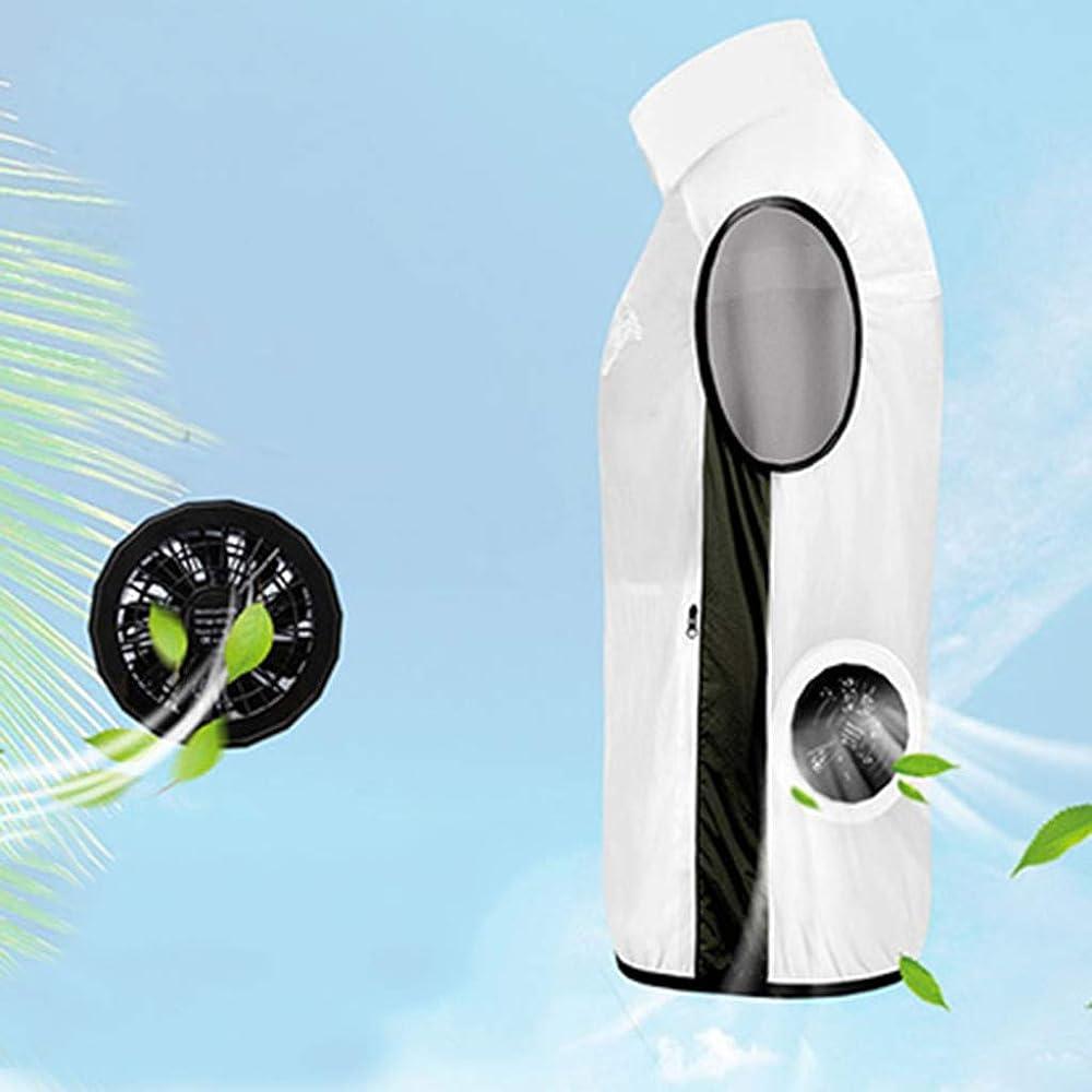 LEKODE Air Conditioning Heatstroke Countermeasures Outdoor Working Clothes Vest