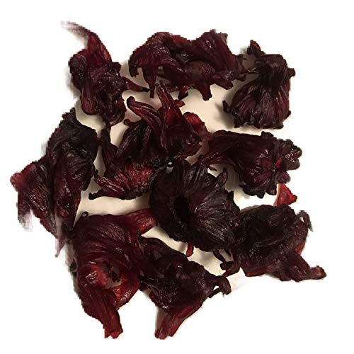 Dried Edible Hibiscus Flower Snack 16 Oz By Nutty Fruity