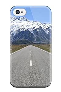 New Style 1835475K80423405 Fashion Case Cover For Iphone 4/4s(road)