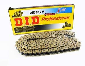 D.I.D 1266100D - Cadena reforzada con retenes X-Ring (VM 530, 100), color oro