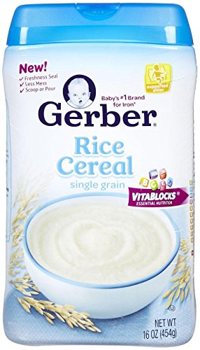 Gerber 1st Foods Baby Cereal - Rice - 16 oz - 2 pack