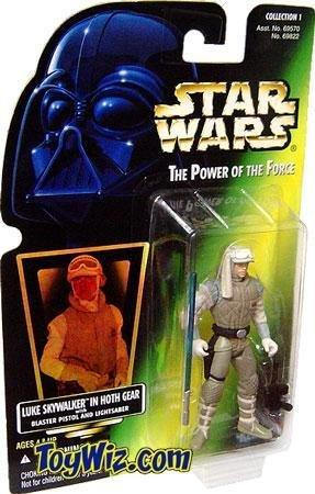 Star Wars Power of the Force Luke Skywalker in Hoth Gear