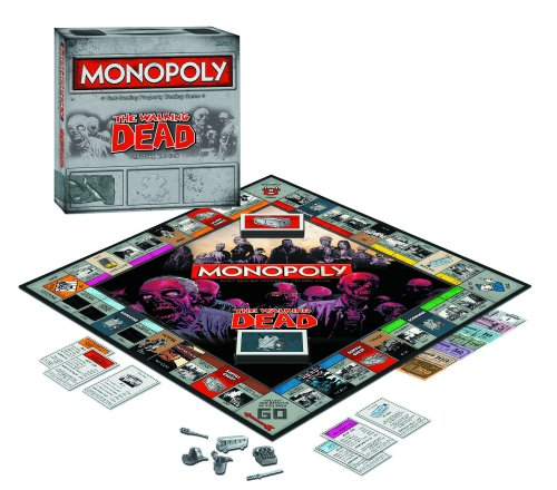 Walking Dead MONOPOLY Survival Edition Board Game _ For 2 to