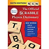 The Official Scrabble Players Dictionary, Sixth Ed. (Trade Paperback) 2018 Copyright