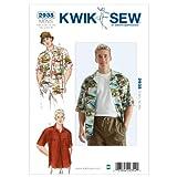 Kwik Sew K2935 Shirts and Hat Sewing Pattern, Size Shirt: S-M-L-XL-XXL, Hat S-M-L-XL