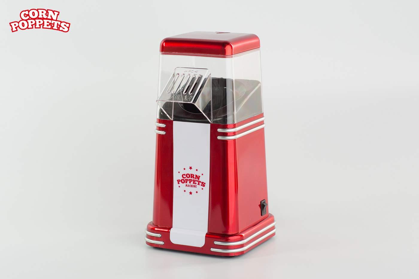 Máquina de Palomitas Corn Poppets Machine: Amazon.es: Alimentación y bebidas