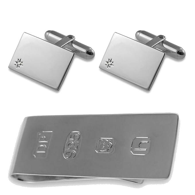 Sterling silver James Bond money clip