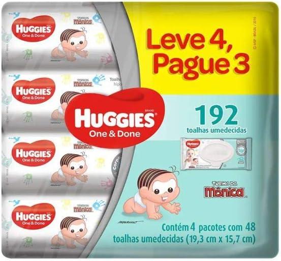 Lenços Umedecidos, Huggies - Leve 4 Pague 3