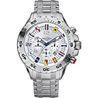 Nautica Watches Mens NST Chronograph Flag Watch