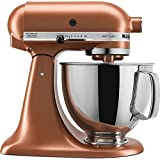KitchenAid174; 5 Quart Artisan Stand Mixer Copper Pearl KSM150PSCE