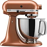 : KitchenAid174; 5 Quart Artisan Stand Mixer Copper Pearl KSM150PSCE
