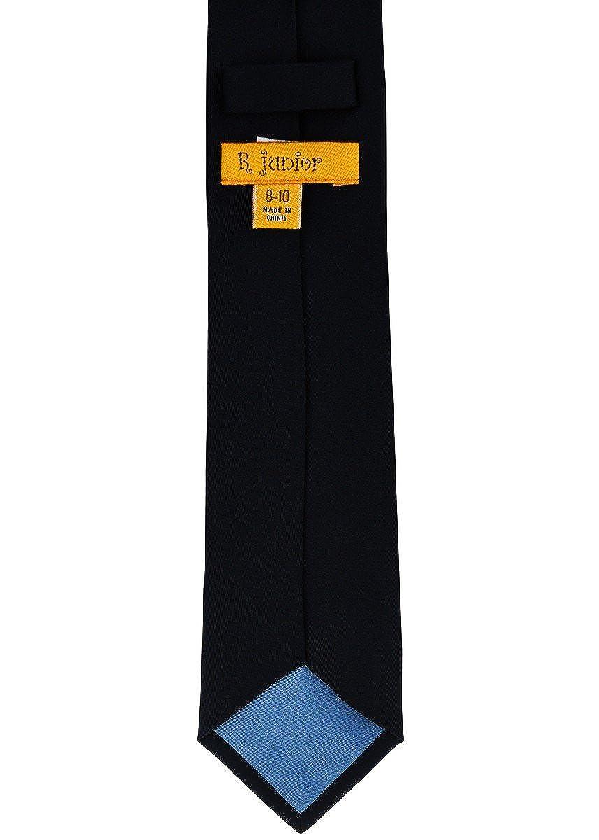 Various Colors 8-10 years Retreez Solid Plain Color Woven Boys Tie