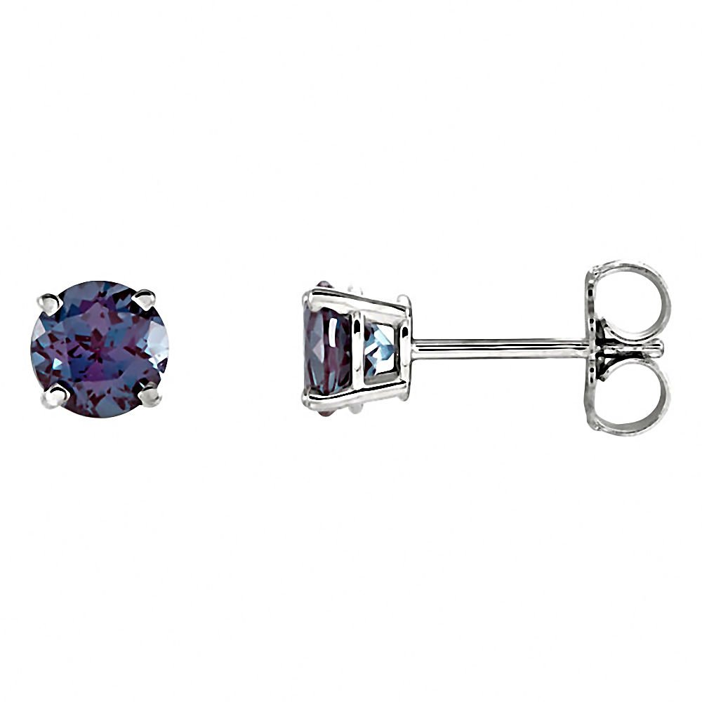 earrings limited natural tanzanite alexandrite stud edition genuine brazilian gold