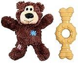 Best Nylabone Dog Tug Toys - KONG Dog Chew Bundle - Includes (1) Wild Review