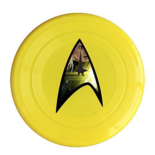 Logog 8 Custom Design Of The StarTrek Anton Yelchin Flying Discs Yellow Diameter 23cm