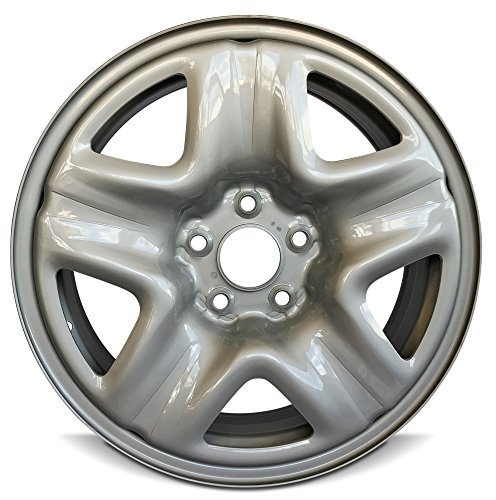 Road Ready Car Wheel For 2013-2015 Honda Accord 2007-2011 Honda CR-V 17 Inch 5 Lug Gray Steel Rim Fits R17 Tire - Exact OEM Replacement - Full-Size Spare (Best Replacement Tires For 2010 Honda Cr V)