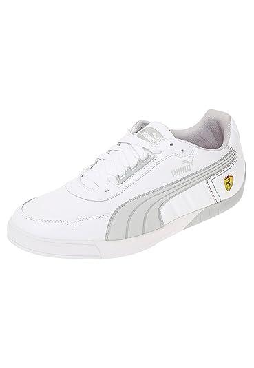 d98f524acc8 Puma 3.0 Lo SF Ferrari blanco - Talla  40.5  Amazon.es  Zapatos y  complementos