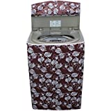 Dream Care Floral Brown Colored Washing machine cover for Onida WS65WLPT1LR 6.5Kg Liliput Washer