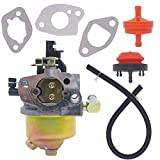NIMTEK 951-14026A Carburetor with Fuel Filter and Primer Bulb for MTD Troy Bilt Cub Cadet Snow Blower 951-14027A 951-10638A 751-14026A 751-10638A Carb