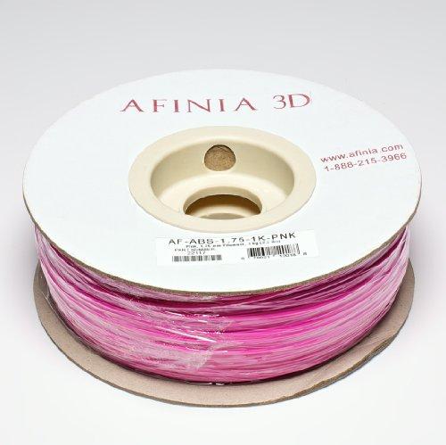 Afinia AF-ABS-1.75-1K-PNK 1.75mm Filament 2.2 lbs. Pink