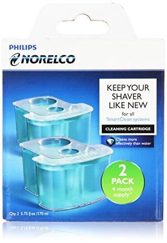 Philips Norelco JC302/52 Smartclean Replacement Cartridge for Shaver Series 9000