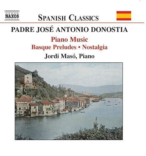 Donostia - Piano Works by Padre Jose Antonio Donostia : Amazon.es ...