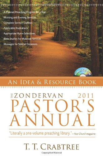 Zondervan 2011 Pastor's Annual: An Idea and Resource Book (Zondervan Pastor's Annual: An Idea and Source Book) pdf epub