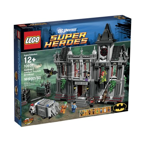 LEGO Super Heroes Arkham Asylum Breakout (10937) (Discontinued by - Pack Asylum