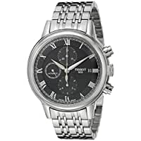 Tissot Men's T0854271105300 Carson Analog Display Swiss Automatic Silver Watch