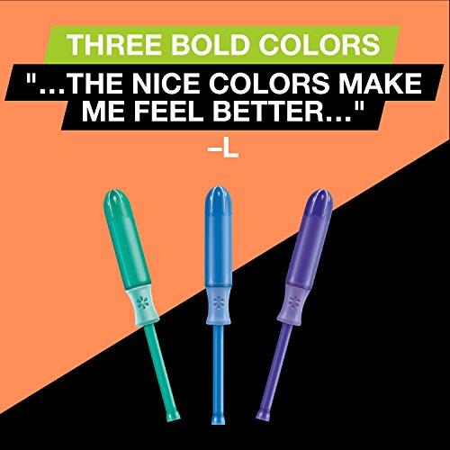 U by Kotex Sleek Tampons, Super Absorbency, Fragrance-Free, 34 Count - Pack of 6 by U by Kotex (Image #6)