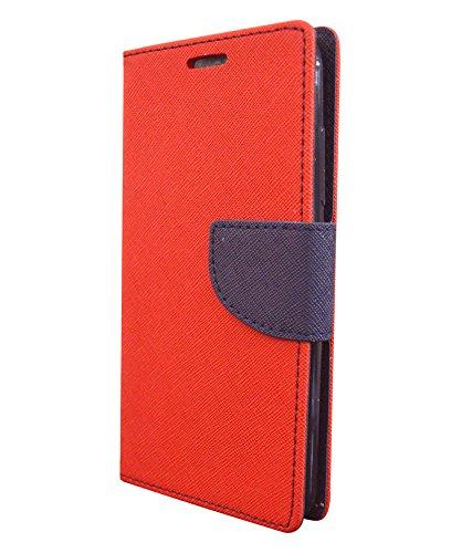 COVERNEW Flip Cover for Motorola Moto G  3rd Gen  Red 1MercuryBookMotoG3ZenRed