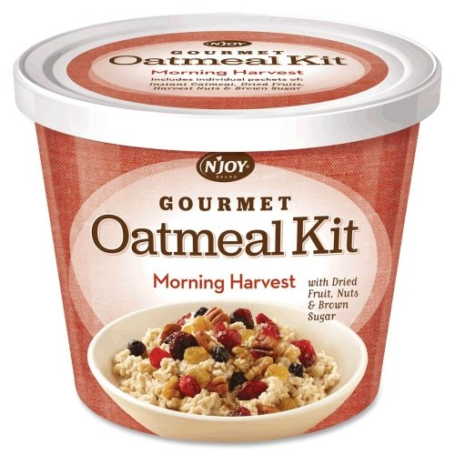 Wholesale CASE of 10 - Sugarfoods Oatmeal Cups-Oatmeal Cup, Individually Wrapped, Morning Harvest, 8/CT