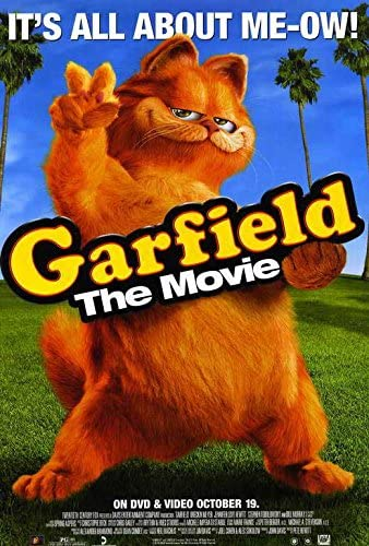 Amazon Com Garfield Poster Movie 27 X 40 Inches 69cm X 102cm 2004 Style D Posters Prints