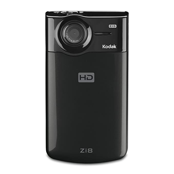 amazon com kodak zi8 pocket video camera black discontinued by rh amazon com