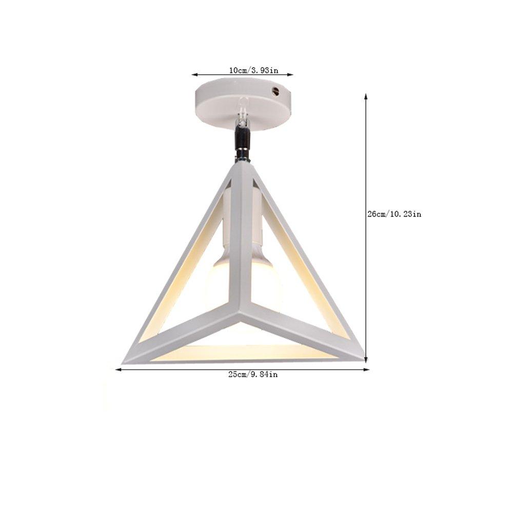 Naiyn R/étro Lampe Plafond 180 Degr/és Plafonnier Encastr/é E27 Industrial DIY Metal Ceiling Lamp Vintage Plafonnier Suspension Luminaire Lefer Mini Lustres G/éom/étriques Cr/éatifs /éclairage int/érieur