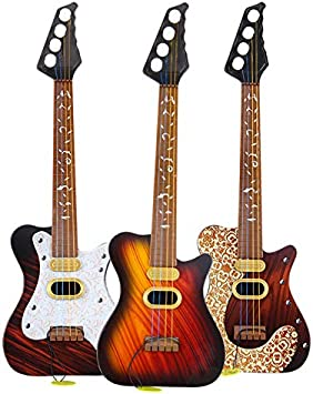 symboat juguete niño Simulation guitarra juguete 4 cuerdas Rock ...