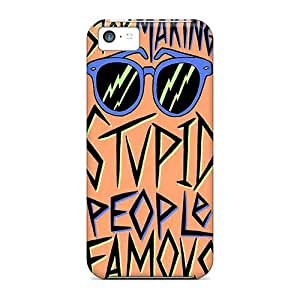 High-quality Durability Cases For Iphone 5c(stop Making Stupid People Famous)