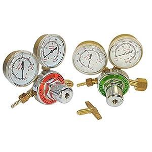 Oxygen Acetylene Regulators for Welding Fit Victor Gas Torch Cutting Solid Brass