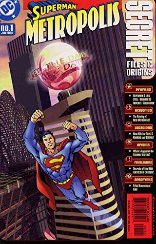 Superman Metropolis Secret Files #1 VF/NM ; DC comic book