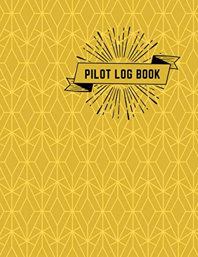 "Pilot Log Book: Large Aviation Pilot Flight Logbook, Flight Crew Record Book, Aircraft System Management Log, to Record Flight Hours, Maintenance ... Size 8.5""x11"" 120 pages (Pilot Record book)"