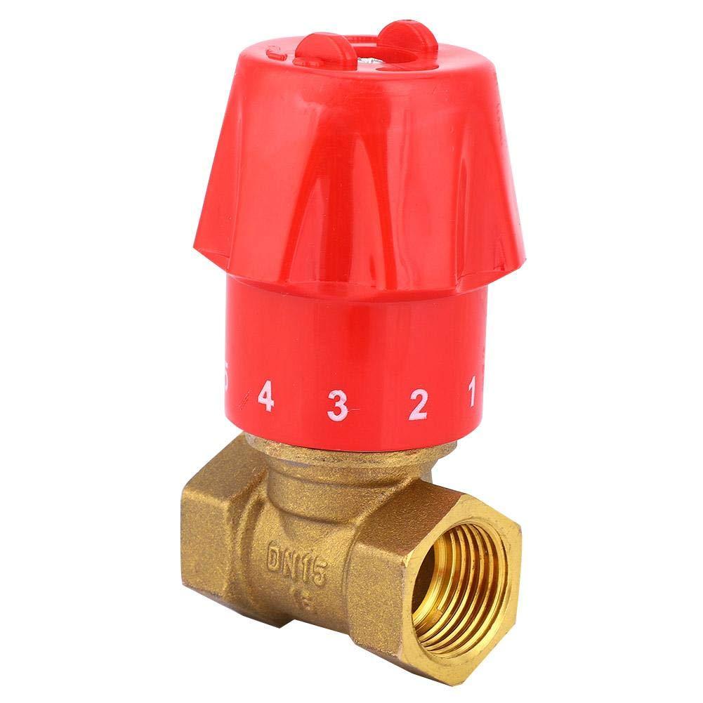 und Kaltwassertemperatur-Regelventil Messing verdickt R/ückschlagwassertemperatur-Regelmischventil 70 50mm BiuZi 1Pc G1 2 BSP Gewinde Warm Regelventil 55
