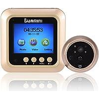 Fosa 2.4 TFT LCD Smart Door Peephole Viewer PIR Sensor 160° HD Night Vision Security Camera Monitor