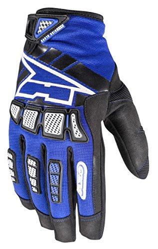 (AXO Ride Junior Gloves (Blue, Size)