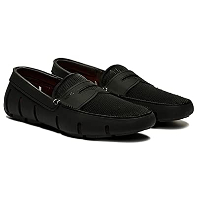 SWIMS Mens Penny Loafer Navy Size 9 | Loafers & Slip-Ons